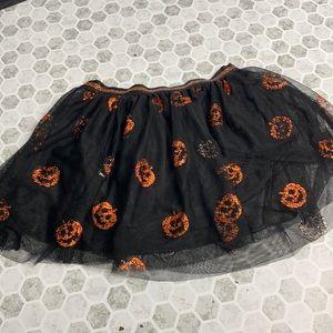 Celebrate Halloween Small Pumpkin Tulle Skirt